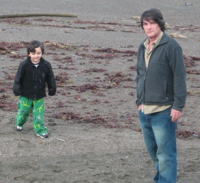 Darien & I on Beach in Cambria