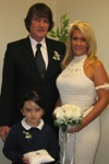 Robert & Susan Burney with ringbearer Darien